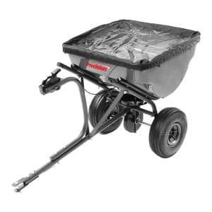 Precision 100-Pound Capacity Tow-Behind Broadcast Spreader