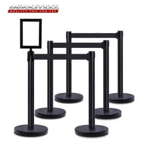 DuraSteel VIP Series Standard Rope Barriers