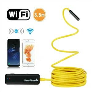 BlueFire Semi-Rigid Flexible Wireless Borescope