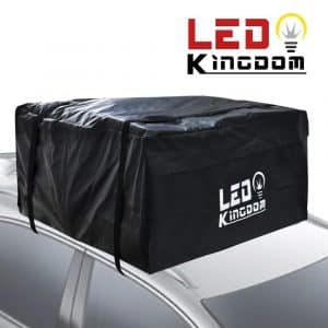 LED Kingdom Water-proof Cargo Top Storage and Car Roof Bag