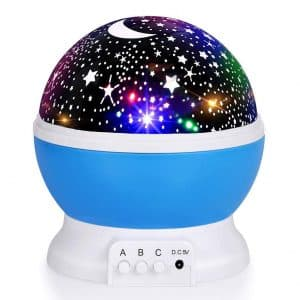 Luckkid Baby Night Light Moon Projector