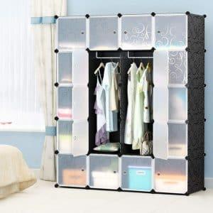 MEGAFUTURE Portable Storage Organizer for books and toys (20-Cube)