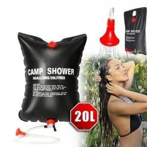 Wsobue Summer Solar Shower Bag