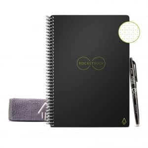Rocketbook Smart Notebook with Infinity Black Cover
