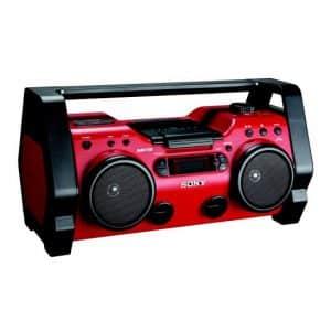 Sony Portable Heavy-Duty Jobsite Radio, ZSH10CP