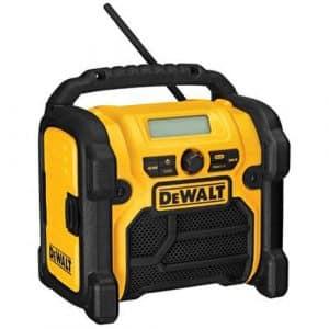 DEWALT 20V Compact Jobsite Radio, DCR018