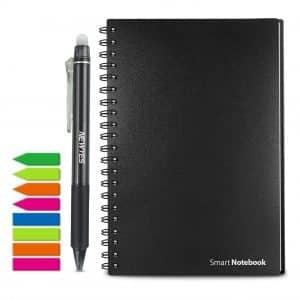Homestec Reusable Wirebound Sketch Smart Notebook