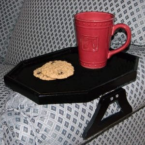 JUMBL Wooden Clip Arm Table