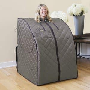 Radiant Saunas Portable Steam Sauna with Canvas Chair