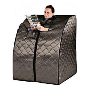 Heat Wave Saunas Rejuvenator Portable Sauna, Wired Remote Control