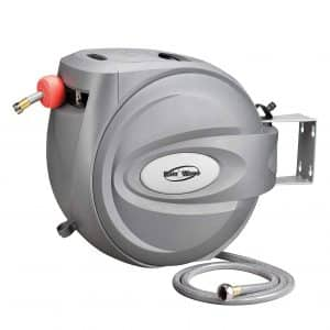 Rainwave Retractable Swivel Wall Mounted Hose Reel