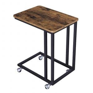 VASAGLE ULNT50X Industrial Mobile Side Table