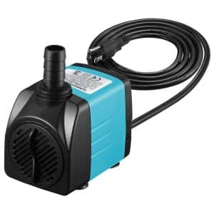 Homasy Upgraded 400GPH Submersible Pump