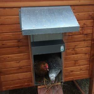 AdorStore Automatic Chicken Coop Door, Battery operated