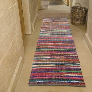 Chardin Home Eco-Friendly 100% Recycled Runner Area Rug