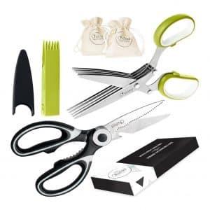 Chefast Steel Food Scissors