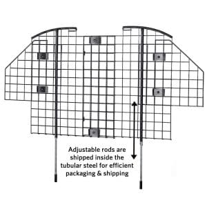 MidWest Wire Mesh Pet Vehicle Barrier