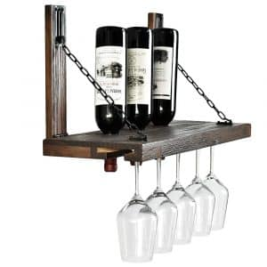 WELLAND Karen Wall Mounted Wine Racks