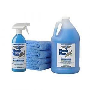 Wet or Waterless Car Wash Wax Kit 144 ounces