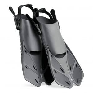 CAPAS Snorkel Swimming Fins