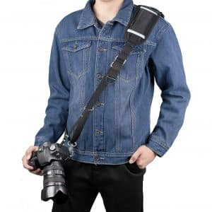 Sugelary Camera Strap with Long Shoulder Strap