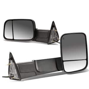 DNA MOTORING TWM-013-T111-BK Pair of Towing Side Mirrors