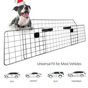 Sailnovo Adjustable Pet Barrier for SUV Vehicles - Universal Fit