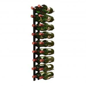 Vinotemp Metal Wall-Mount 18-Bottle Wine Rack