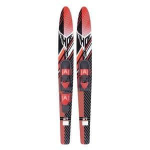 HO Blast Combo Water Skis with Adjustable Trainer Bar Bindings