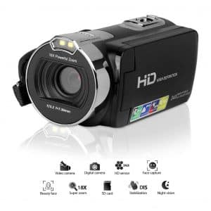 CamKing HDV-312 Video Camera Camcorder YouTube Vlogging Camera