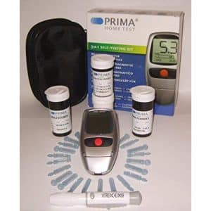 Prima Home Test 3 in 1 Cholesterol Test Kit