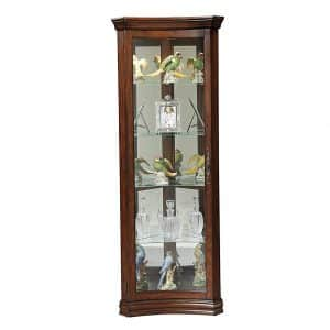 Wood & Style Furniture Corner Curio Cabinet
