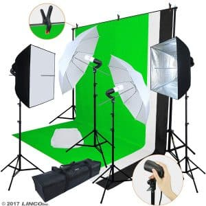 Linco Lincostore Photo Video Studio Light Kit