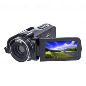 SOSUN Video Camera Camcorder HD 1080P with 3.0 Inch LCD Screen