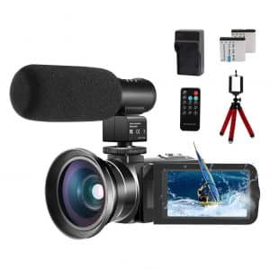 CofunKool Video 24.0MP Vlogging Camera 1080P Camcorder