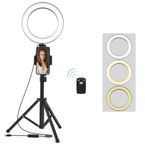 Selfie Ring Light with Tripod Stand ad Phone Holder