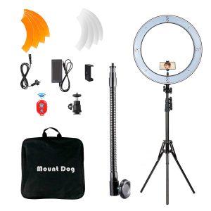 """MOUNTDOG 18"""" Ring Light Kit"""