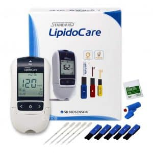 Blood Cholesterol Test Home Kit
