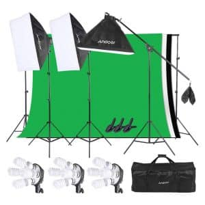 Andoer Lighting Kit, Photography Light Kit