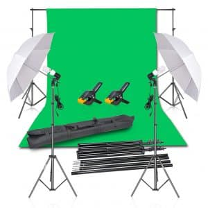 Emart Photography Umbrella Studio Lighting Kit