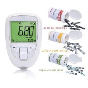 XKRSBS 3-in-1 Cholesterol Meter