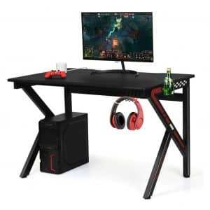 Giantex Gaming Desk, E-Sports Computer Desk