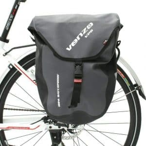 Venzo 600D TPU Polyester Rear Rack Pannier Bag