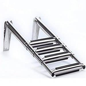 Spareflying 2/3/4-Step Slide Boat Boarding Ladder