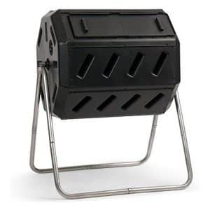 FCMP IM4000 37 gallon Outdoor Tumbling Composter, Black