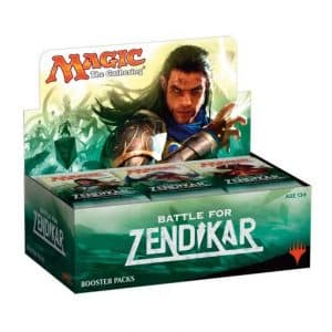 Magic the Gathering Battle for Zendikar 36 packs Booster Box