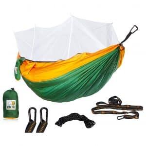 Ryno Tuff Camping Hammock with Mosquito Net