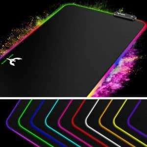 Blade Hawks RGB Gaming Mouse Pad