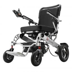 Innuovo Wide Seat Electric Wheelchair for Adults