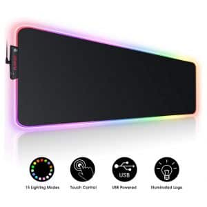 FLOPAD Large RGB Gaming Mouse Pad